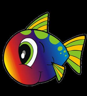 Tęczowe rybki